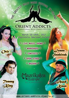 orient addicts 2017 poster